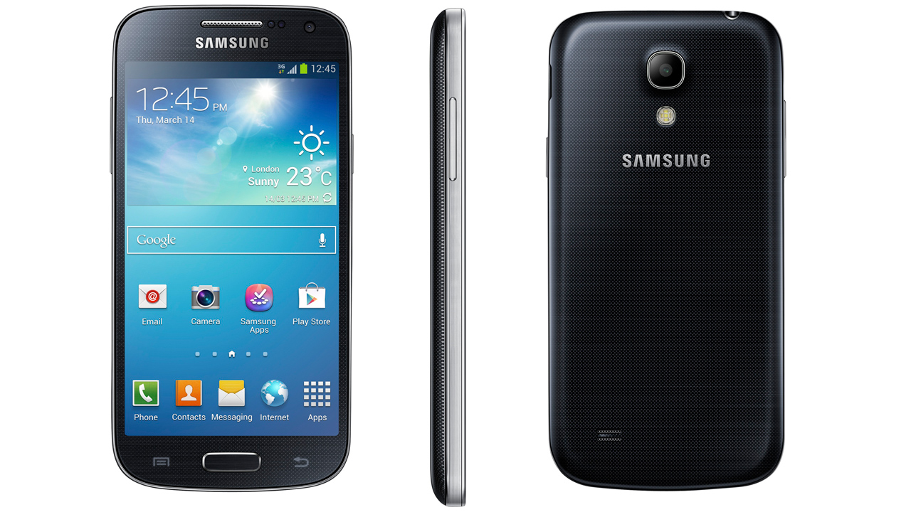 On Smartphone Samsung Galaxy S4