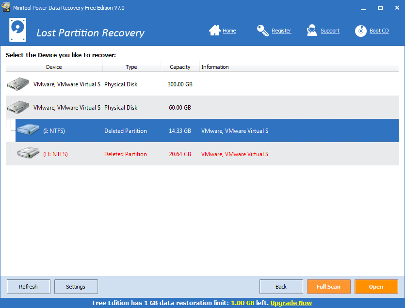 What is lost partition recovery-2