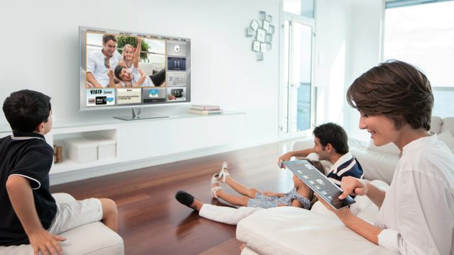 household TV