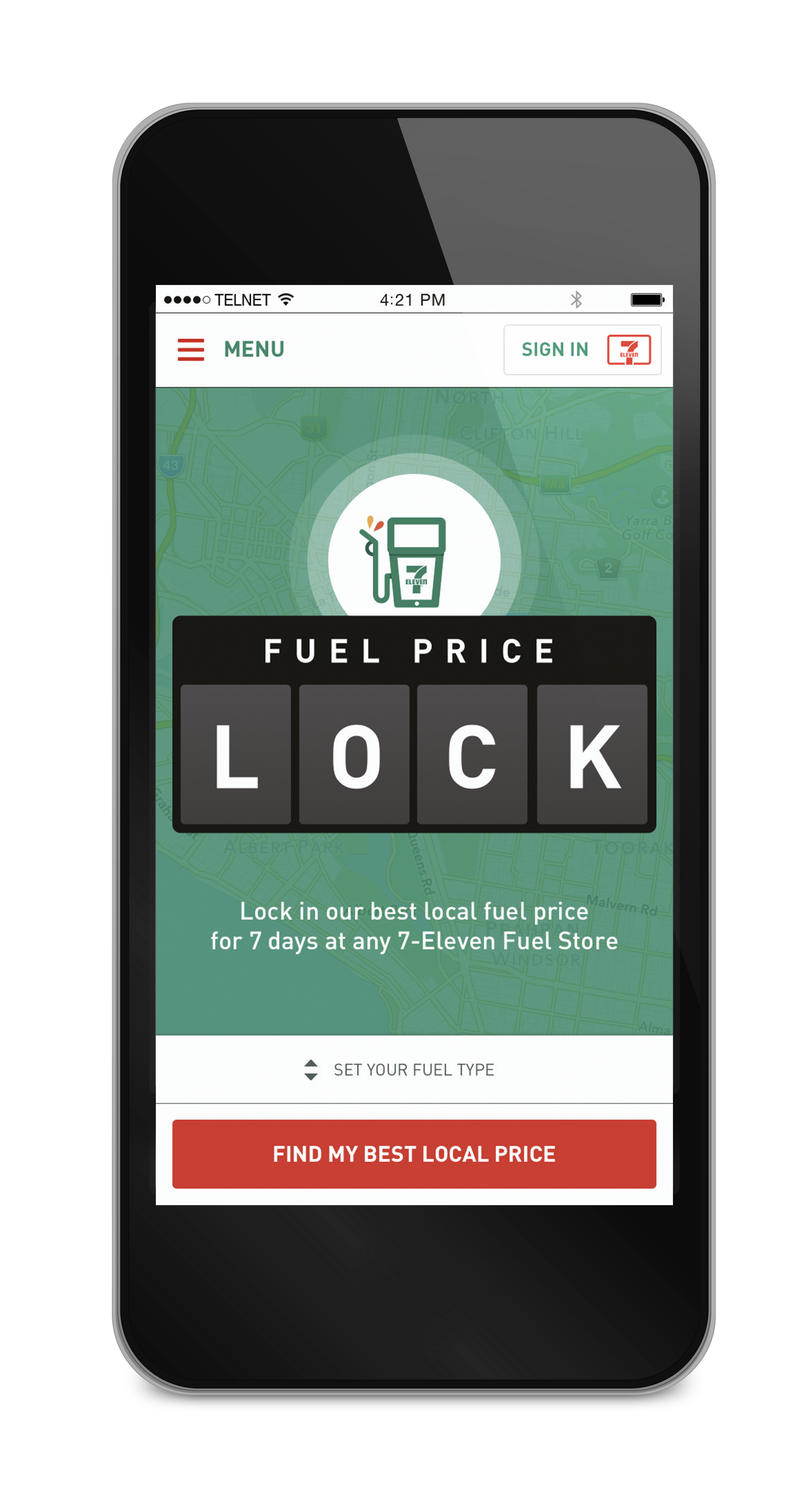 A New Mobile App Lets Drivers Lock in Cheapest Petrol Prices