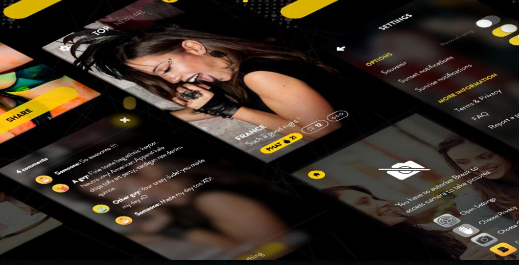 Scenenavi App