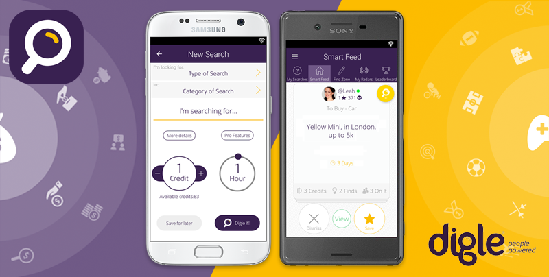 Digle Search – A New Way to Find Things
