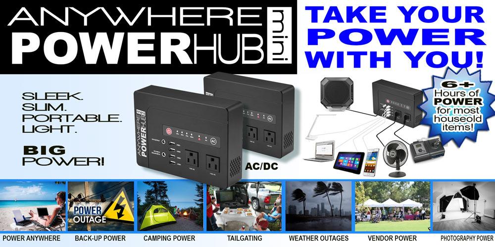 Anywhere PowerHub Mini