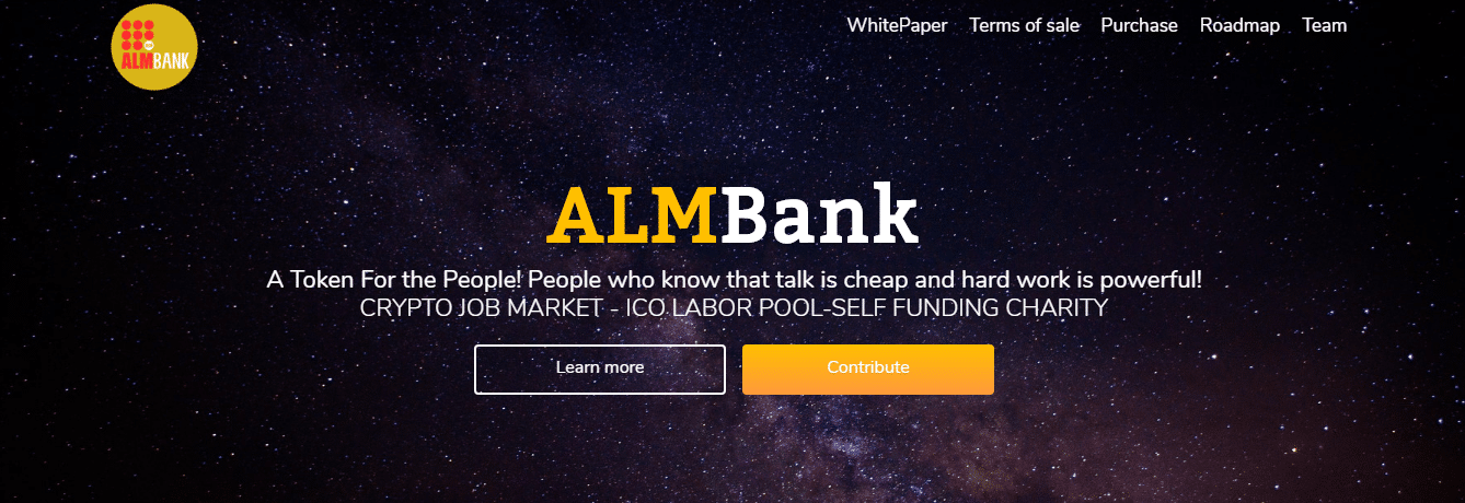 ALMBank – The Ultimate Crypto Based Job Marketplace that Benefits Everyone Involved
