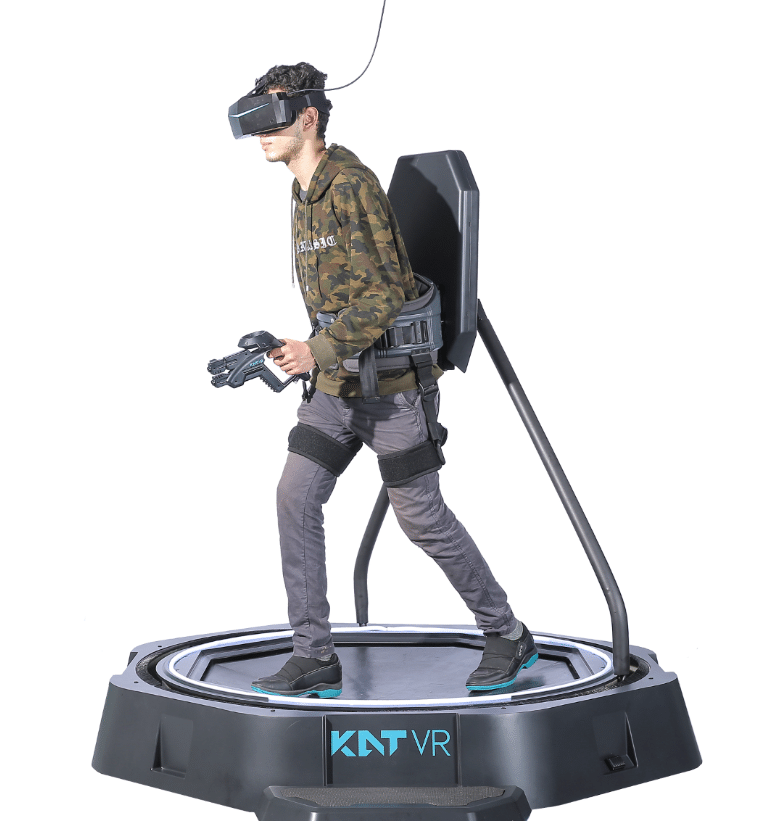 Buy Kat Walk Mini, a High-End Omni-Directional Treadmill, for a Thrilling VR Experience