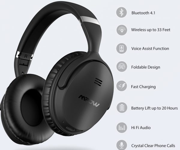 MPOW X4.0 ANC Headphone – Noise Canceling Comfort