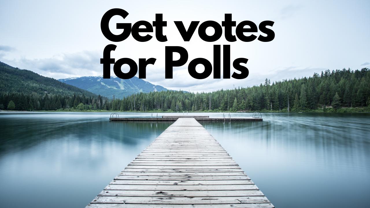 5 Ways To Get Votes For Online Polls