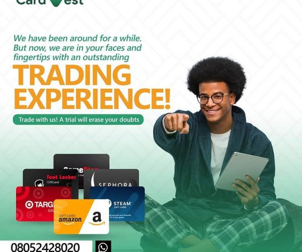 CardVest: Sell Gift Cards in Nigeria at Best Rates